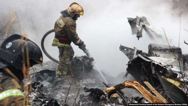 Літак з російськими військовими розбився в авіакатастрофі: безліч загиблих