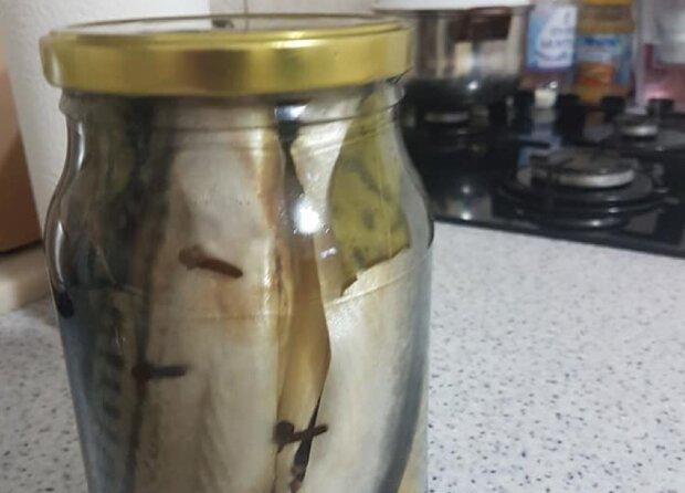 Засолена риба в банку, фото: Facebook Що приготувати на вечерю