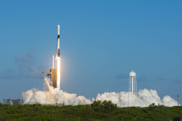 Запуск SpaceX, фото twitter