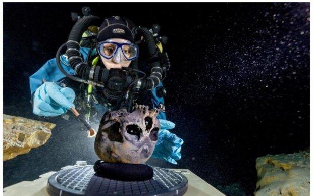 У найбільшій підводній печері світу знайшли кладовище майя