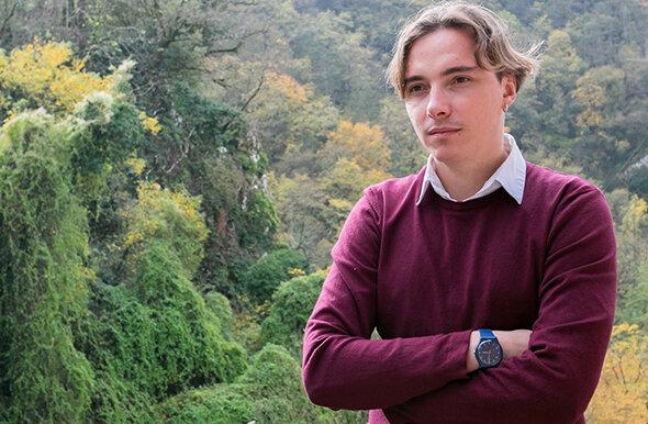 Известный украинский писатель Андрей Любка, фото из Фейсбук