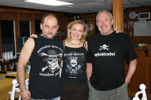 Андрей Чивурін с женой и Макаревичем, фото: segodnya.ua