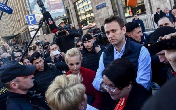 Навальный сделал свои митинги виртуальными