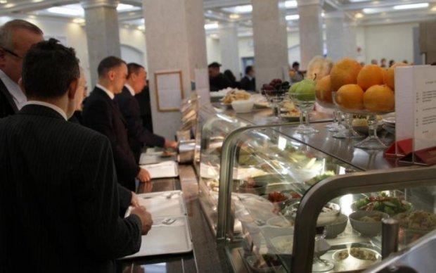 Итальянские недели в ВР: чем кормят депутатов