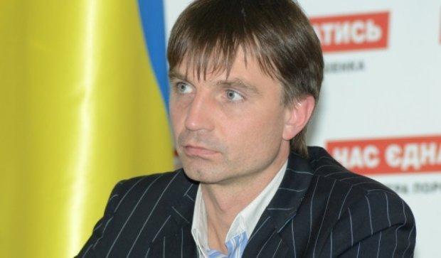 Милиция задержала в Чернигове заместителя председателя Днепропетровщины