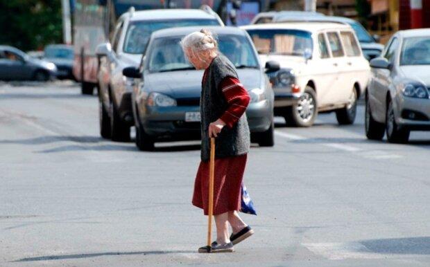 Пенсионерка, фото из свободных источников