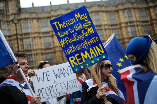 Голосування по Brexit не відбудеться: міністр Британії зруйнував останню надію