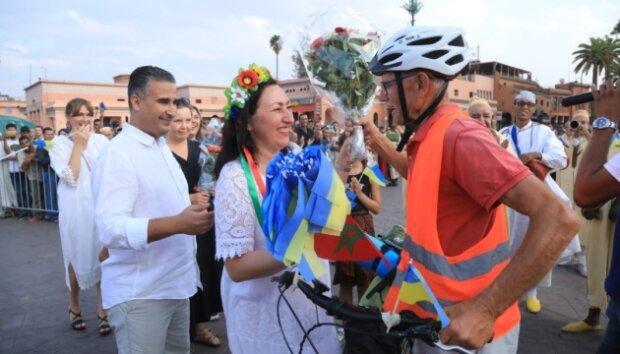 Пенсионер из Украины объехал всю Европу на велосипеде: хотел увидеть родную дочь