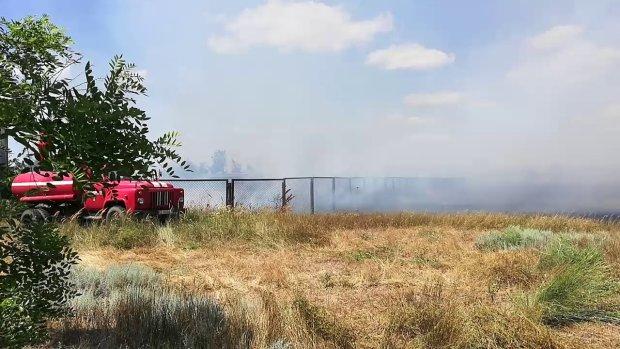 Под Одессой вспыхнул популярный курорт: загорать теперь будем на пепле