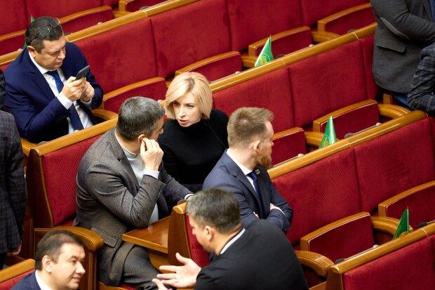 """В Раде, фото facebook """"Слуга народа"""""""