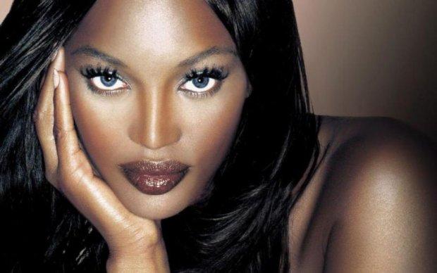 Черная богиня: Наоми Кэмпбелл снялась полностью обнаженной