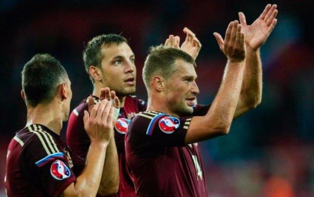 Збірну Росії з футболу струсонув грандіозний скандал