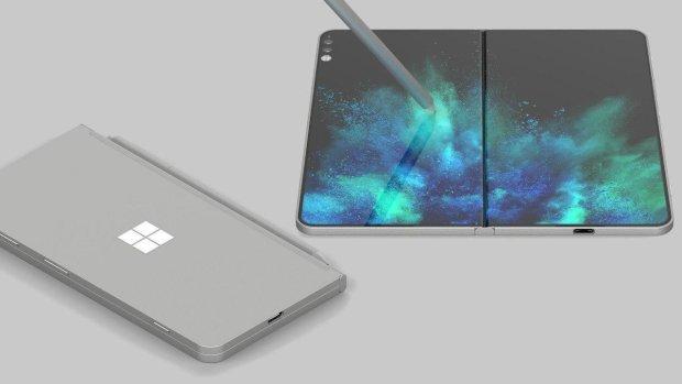 Samsung запатентовала складной игровой смартфон: фото