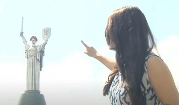 Батьківщина-мати, скріншот з відео