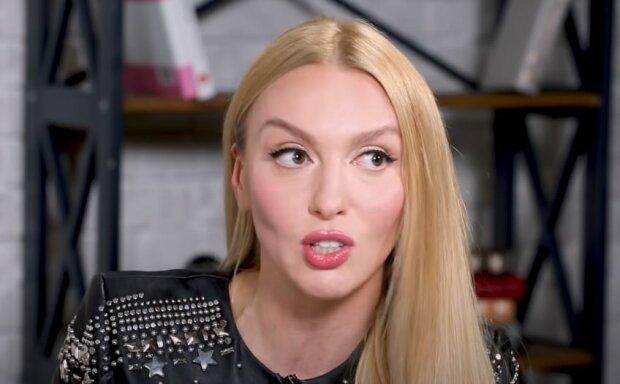 Оля Полякова, скриншот: YouTube