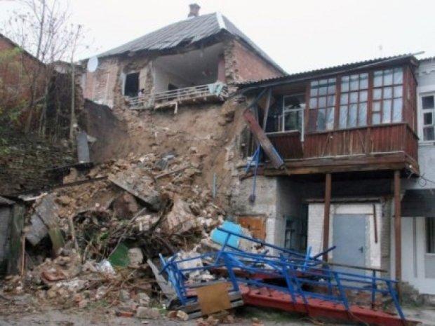 У Мелітополі обвалився житловий будинок