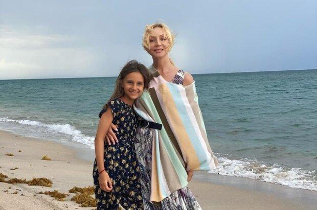 Крістіна Орбакайте з донькою, фото: instagram.com/orbakaite_k