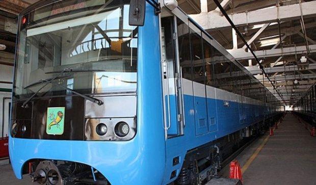Харківський метрополітен презентував нові вагони (фото)