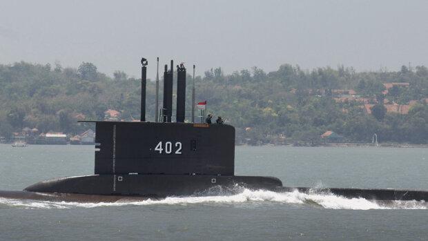 Підводний човен МВС Індонезії, фото: CNA