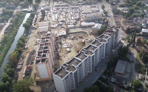 Новострой в Харькове, скриншот из видео