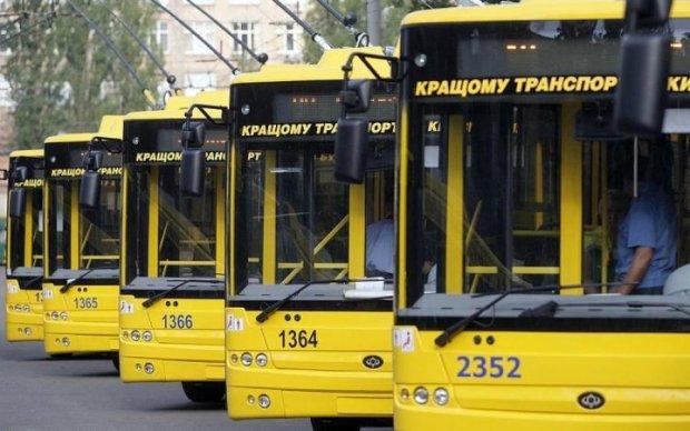 Общественный транспорт Киева изменит график движения