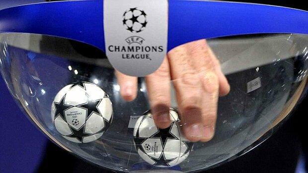 жеребьевка Лиги чемпионов, фото из свободных источников