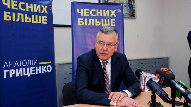 Гриценко объяснил позорный провал Порошенко на выборах: счет баскетбольный, сокрушительный