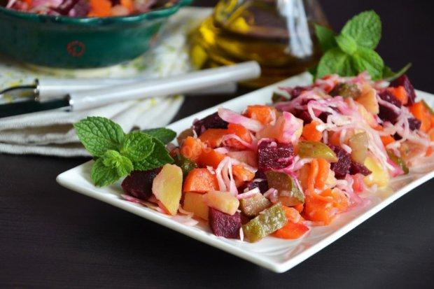 Вінегрет з квашеною капустою: цікавий варіант традиційної страви
