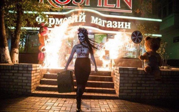 Викрадення в Києві: активістка Femen знайшлася