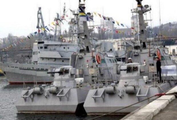 Військовий корабель, скріншот: facebook.com/SecurSerUkraine