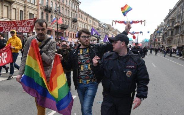 """Питерские копы задержали ЛГБТ-активистов: """"угрожали"""" Кадырову"""