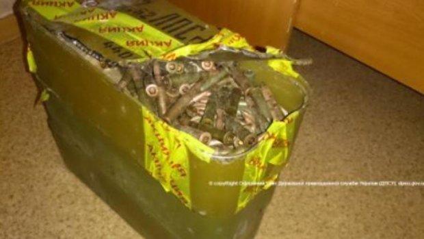 Мариупольские пограничники нашли склад оружия