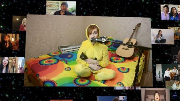 """Финал """"Евровидения 2020"""" - солистка украинской группы Go_A выступила на концерте в домашнем костюме"""