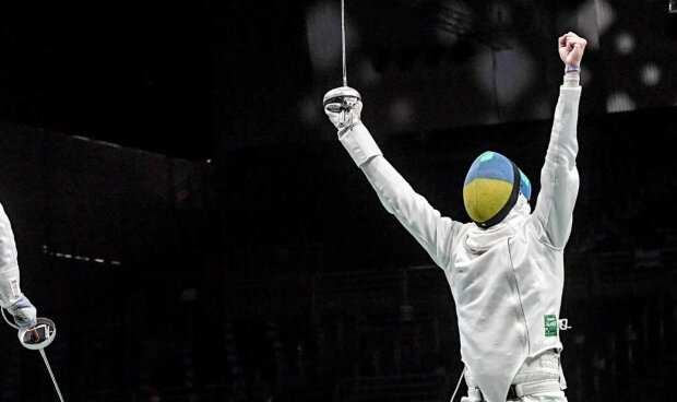 Игорь Рейзлин на Олимпиаде-2020, фото: НОК Украины / Фейсбук