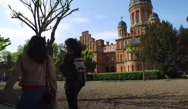 Чернівці, скріншот з відео