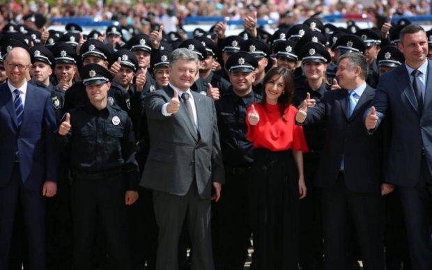 Стало известно, сколько старых милиционеров просочилось в новую полицию