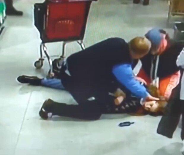 Охранник / скриншот из видео