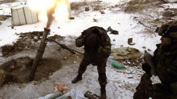 Бойовики бомбили українські позиції з танків і мінометів