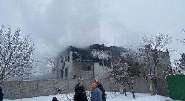 Пожежа в Харкові, фото: УНІАН