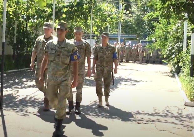 Служба в ВСУ, скриншот: YouTube