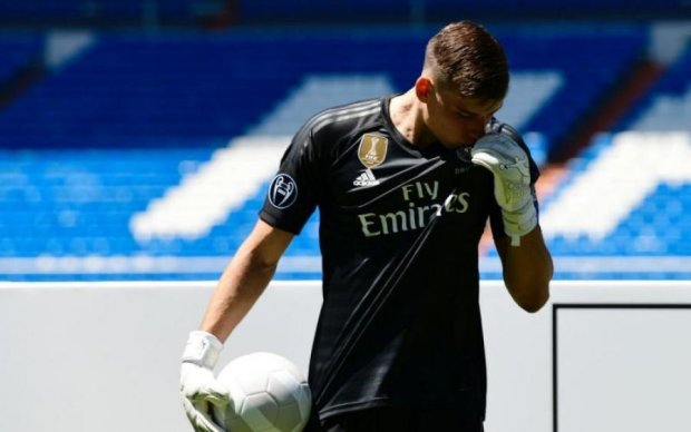 Украинец Лунин нашел замену Реалу