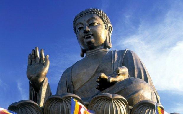 Будда залишив відбиток ступні в Таїланді