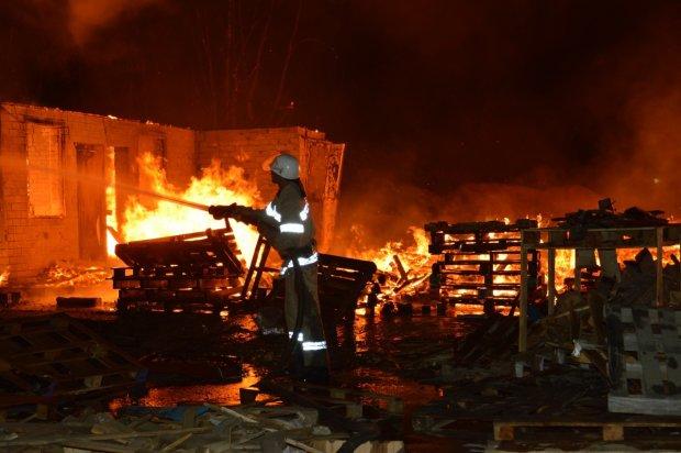 На Львівщині вщент згоріла школа, сотні дітей ледь не загинули: моторошне відео