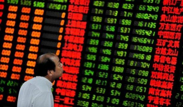 Фондовый рынок Китая: рекордное падение за восемь лет