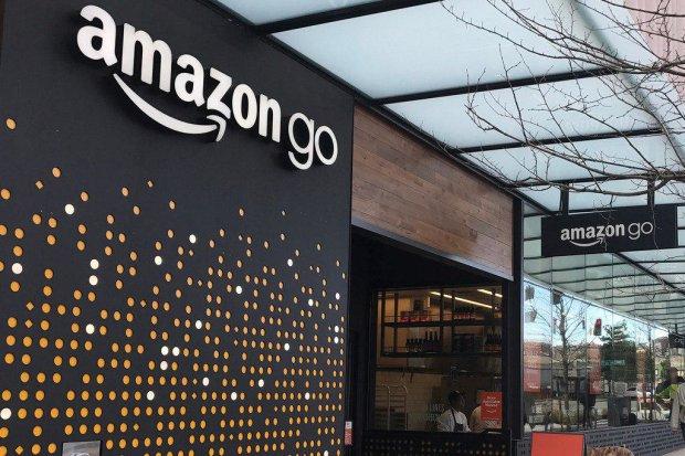 Amazon открыла первый в мире мини-маркет без касс