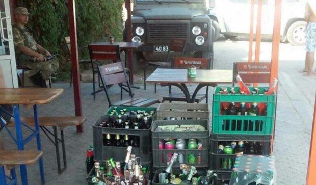СБУ ліквідувала нелегальні поставки сигарет і горілки на Донеччині (фото)