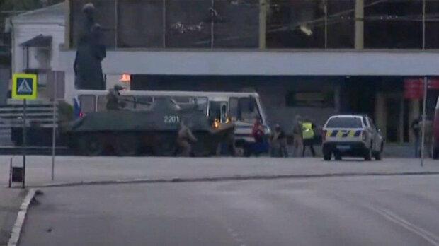Штурм автобуса в Луцке