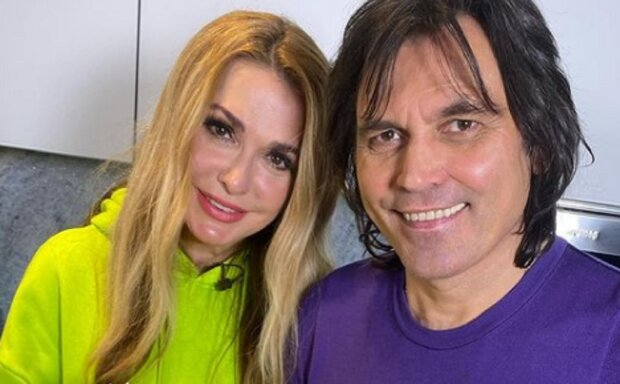 Ольга Сумская и Виталий Борисюк фото: Instagram olgasumska