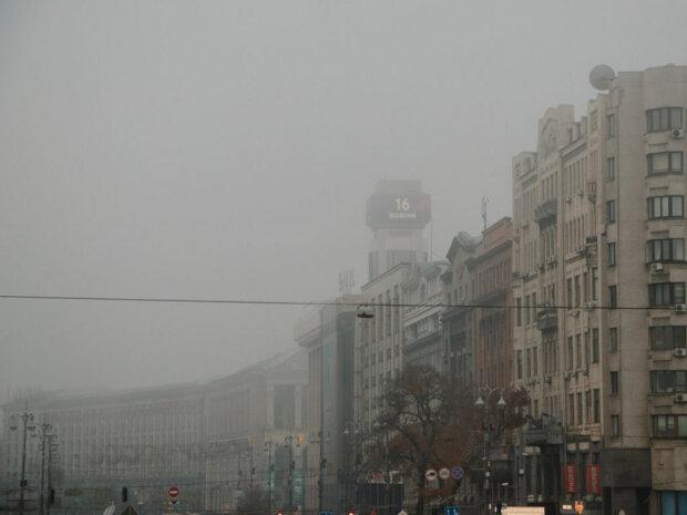 Туман у Києві, фото: golos.ua