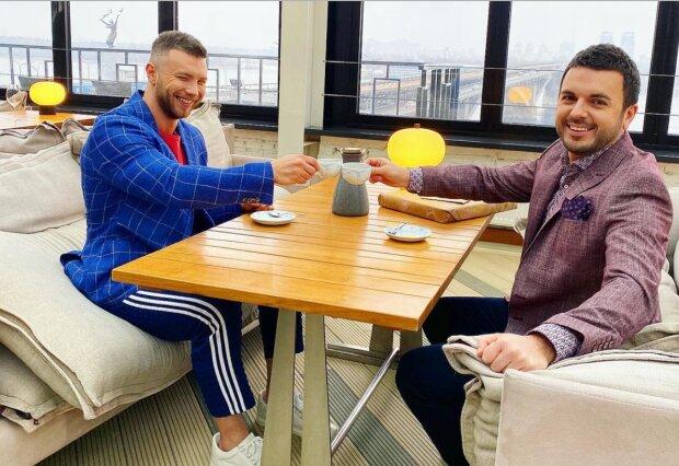 Григорій Решетник і Михайло Заливако, instagram.com/grisha_reshetnik